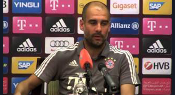 WATCH: Pep Guardiola talked at length again about managing in the Premier League