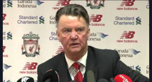 WATCH: Liverpool 0-1 Manchester United: Van Gaal hoping for title charge
