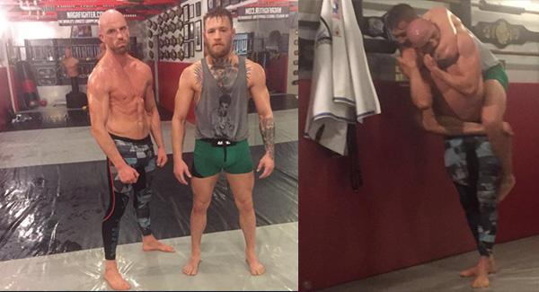 PICS & VIDEOS: Conor McGregor is Getting Ready to SMASH Rafael dos Anjos