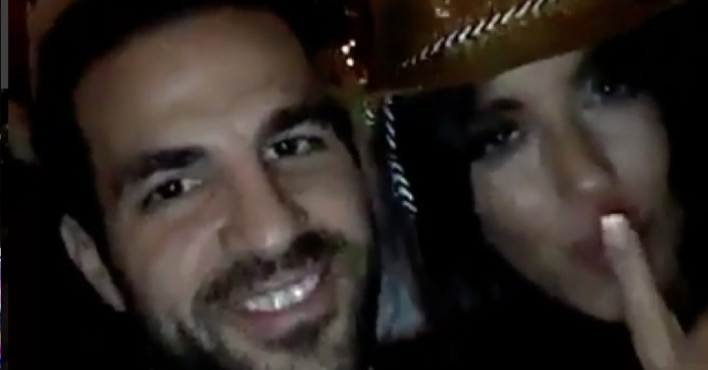 Cesc Fabregas Sings His Way Into The New Year