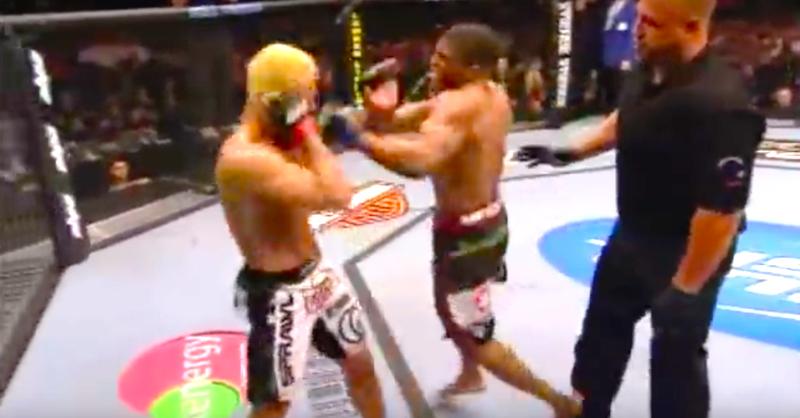 VIDEO: When MMA Fighters Lose Control