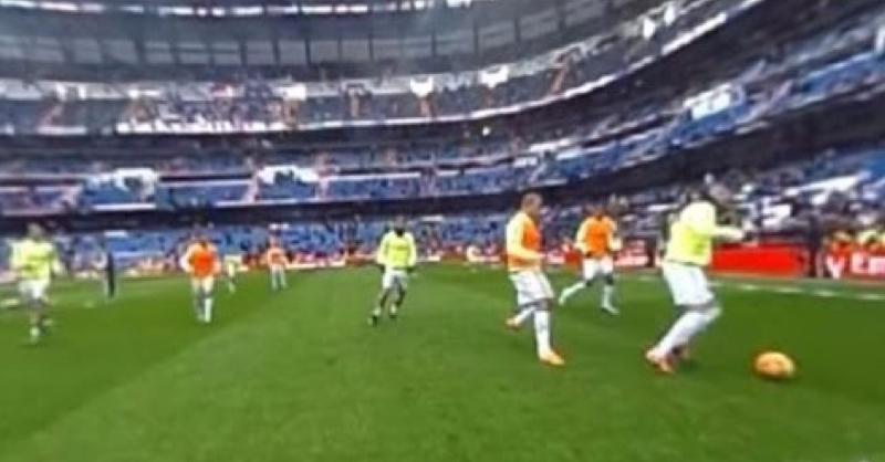 Real Madrid Release Full 360° Video Of View From Pitch During Warm Up