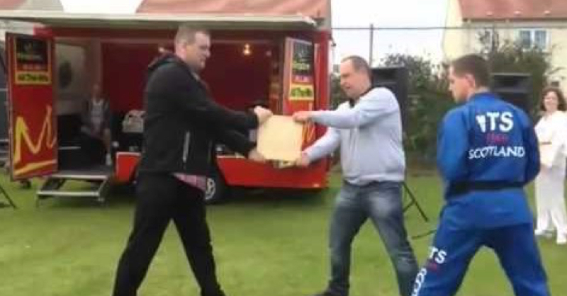 This Has To Be The Worst Martial Arts Demonstration Ever