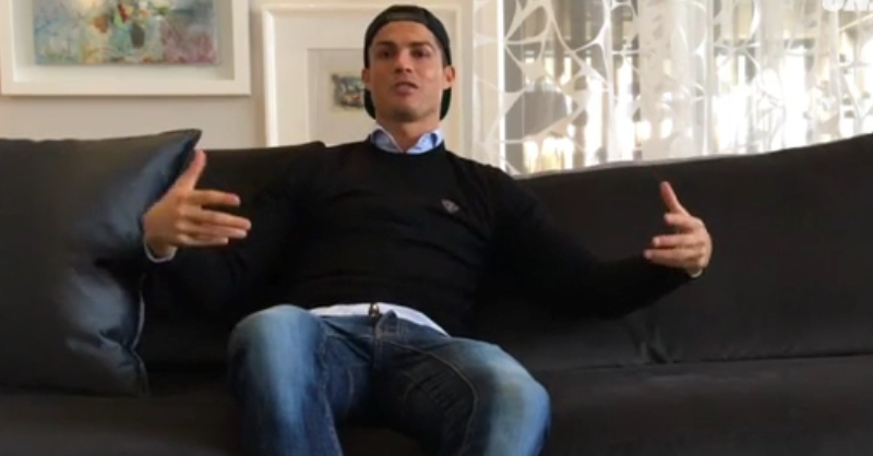 Cristiano Ronaldo Recalls 'The Moment I Knew' As An 11 Year Old