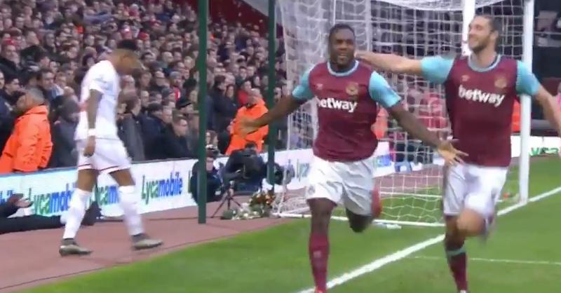 Antonio Heads West Ham Into The Lead Against Liverpool