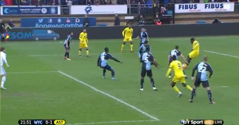 Micah Richards Leads By Example And Puts Villa Ahead In FA Cup Tie