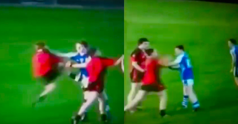 Rare Footage Of A Brutal GAA Fight Has Surfaced Online