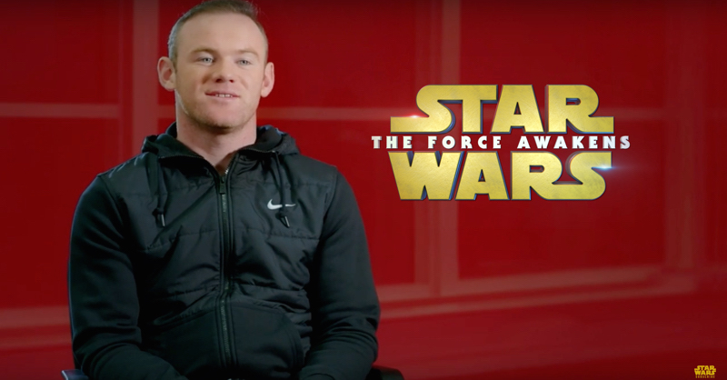 Wayne Rooney Explains His Star Wars Dream Team In Truly Cringey Interview