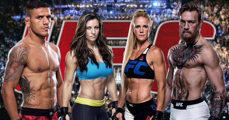 UFC 197 Dos Anjos vs McGregor| Holm vs Tate| Promo Trailer