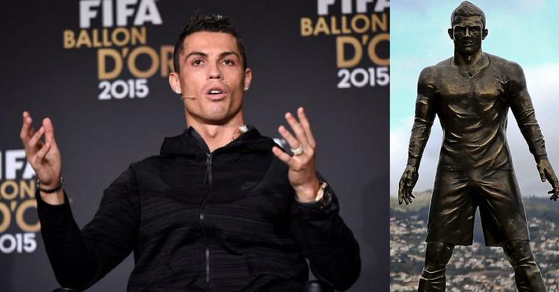 Lionel Messi Fans Vandalise Cristiano Ronaldo Statue In Madeira