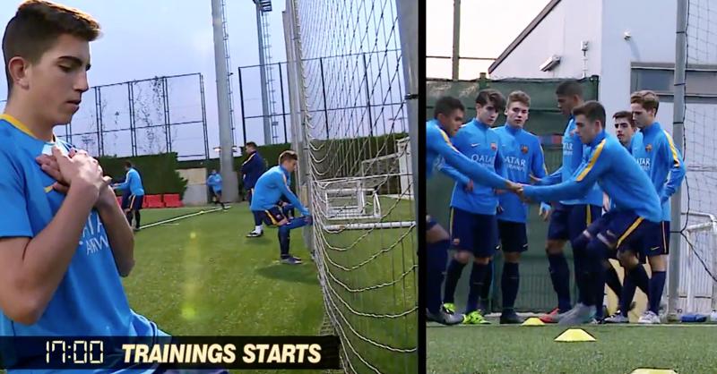 VIDEO: 24 Hours At Barcelona's La Masia Football Academy