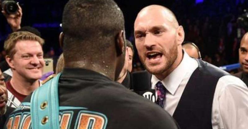 Deontay Wilder And Tyson Fury Go Head To Head In Brooklyn