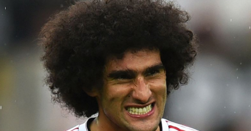 Twitter Reacts To LVG Starting Marouane Fellaini Against Liverpool