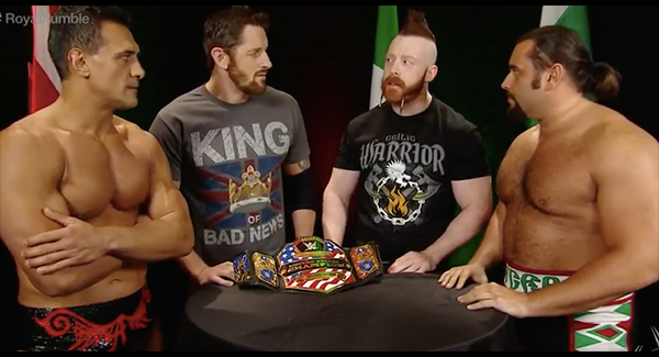 WATCH: The #RoyalRumble pre-show ??