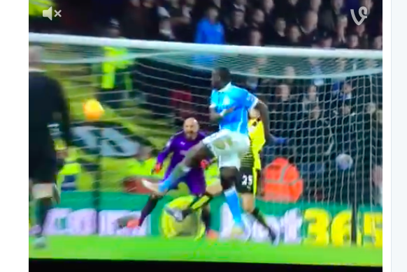 WATCH: Toure with the goal!
