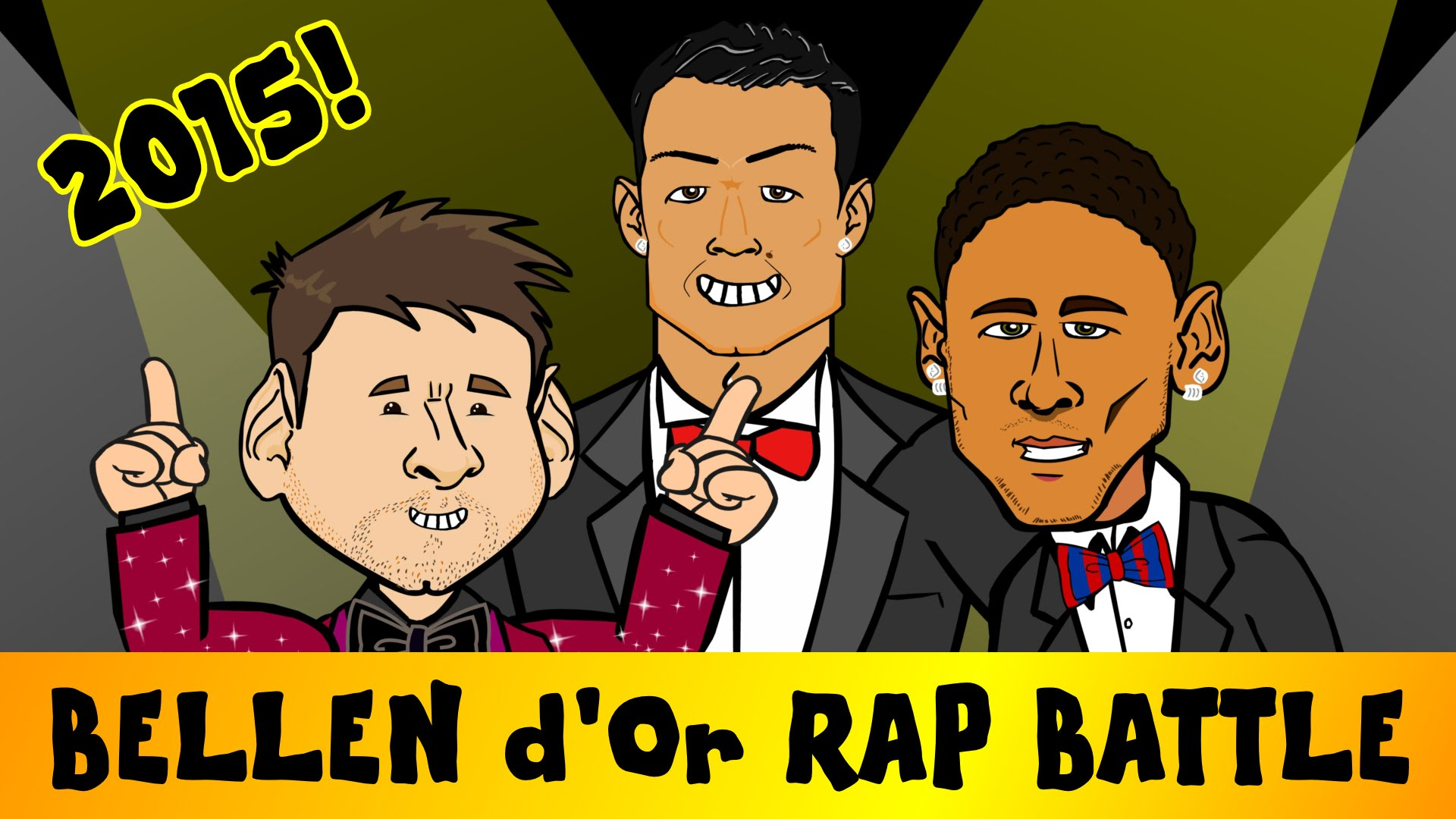 Ballon d'Or Rap Battle 2015 (feat. Messi, Ronaldo and Neymar)