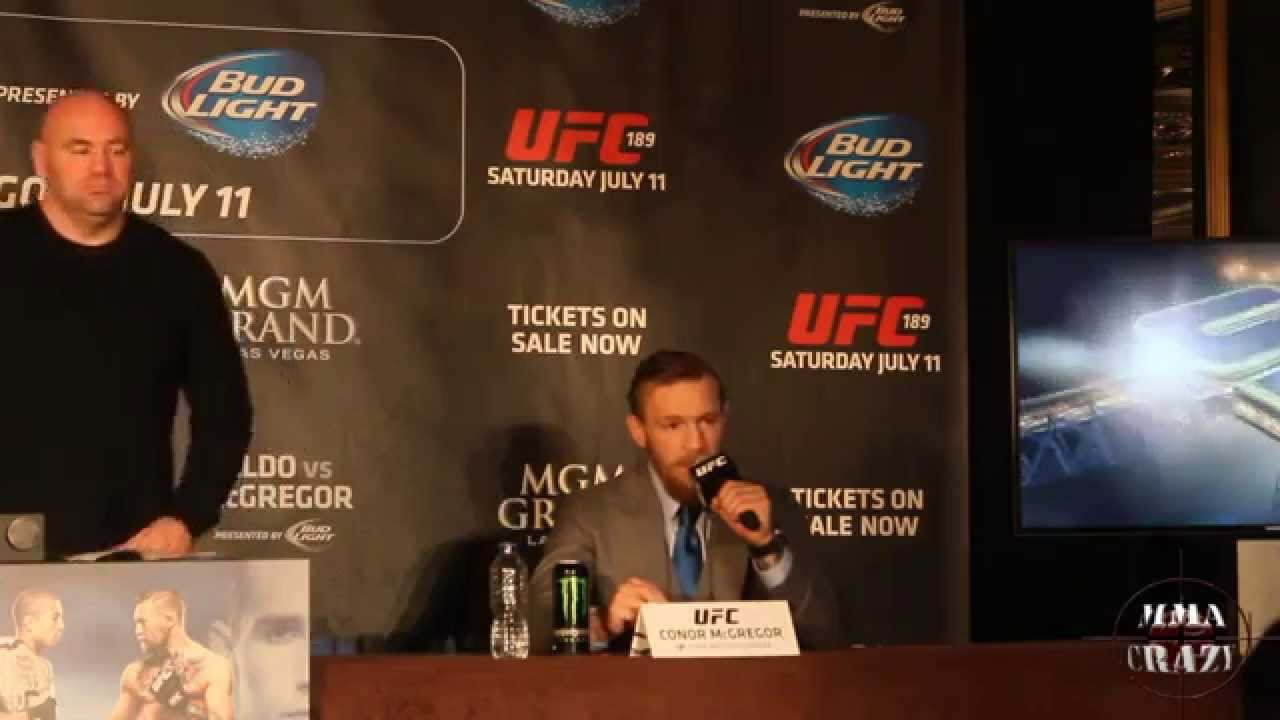 Conor McGregor Warned Rafael Dos Anjos That He Was Coming For Him Last March
