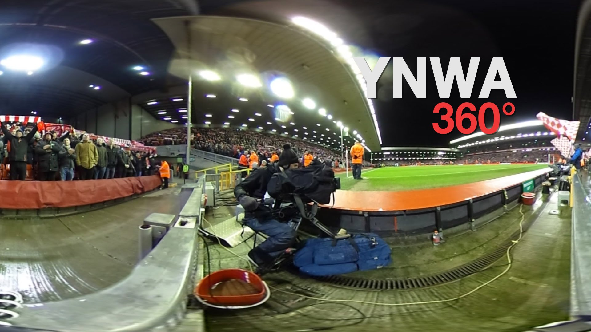 Experience You'll Never Walk Alone At Anfield In Full 360°