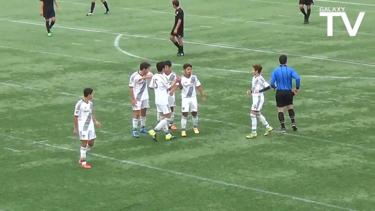 LA Galaxy U16s Score Three Spectacular Goals In One Game