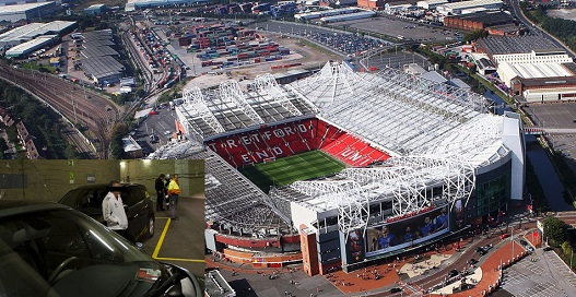 """""""Jobless drifter"""" seen circling Old Trafford, labelled """"harmless"""" by Manchester Police"""
