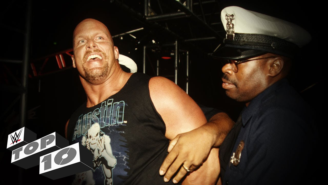 WWE: Top 10 Superstars Who Fought the Law
