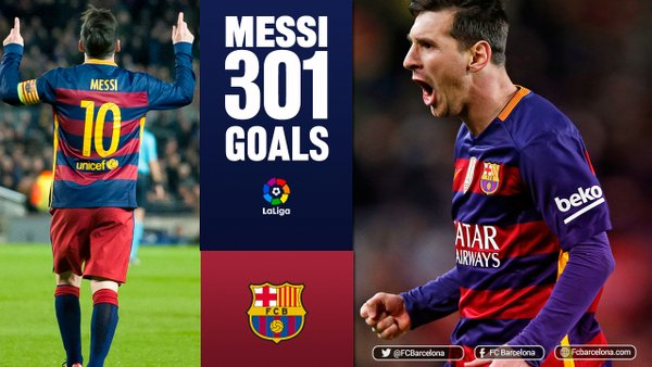 VIDEO: Messi Scores His 300th and 301st La Liga Goals In 3-1 Win At Sporting Gijón