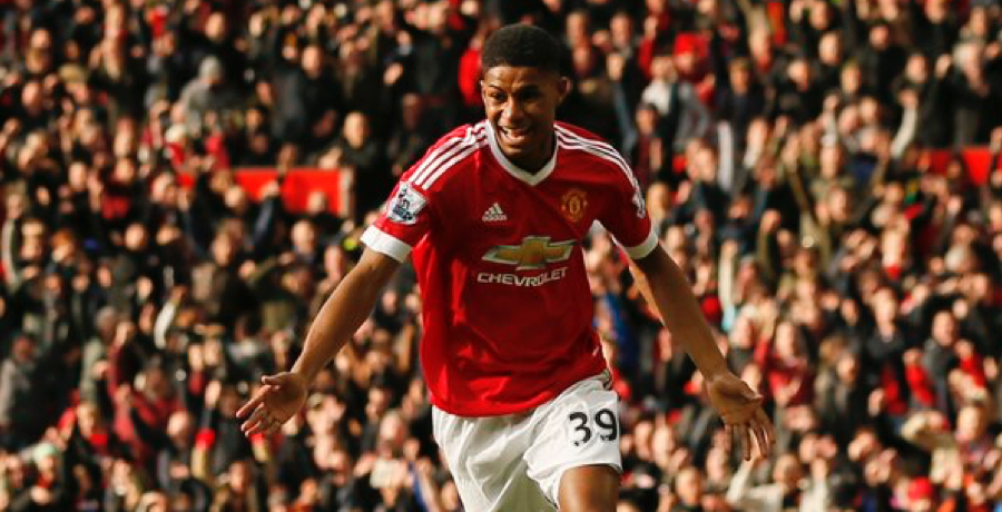 GOALS: Marcus Rashford Scores Two In 3-2 Win Over Arsenal