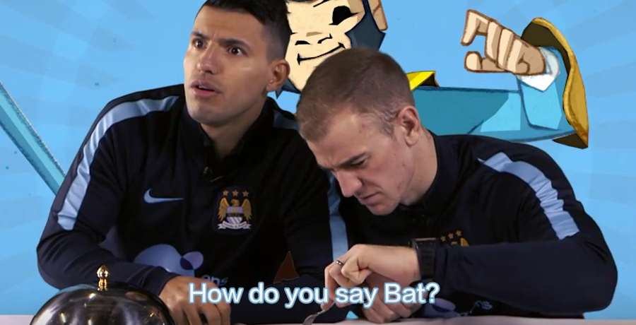 VIDEO: Manchester City Players Try Traditional Chinese Food