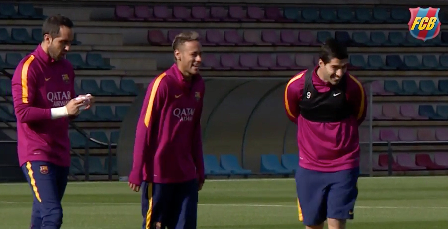 Barcelona Prepare For Copa Del Rey 2nd Leg By Doing Absolutely Nothing