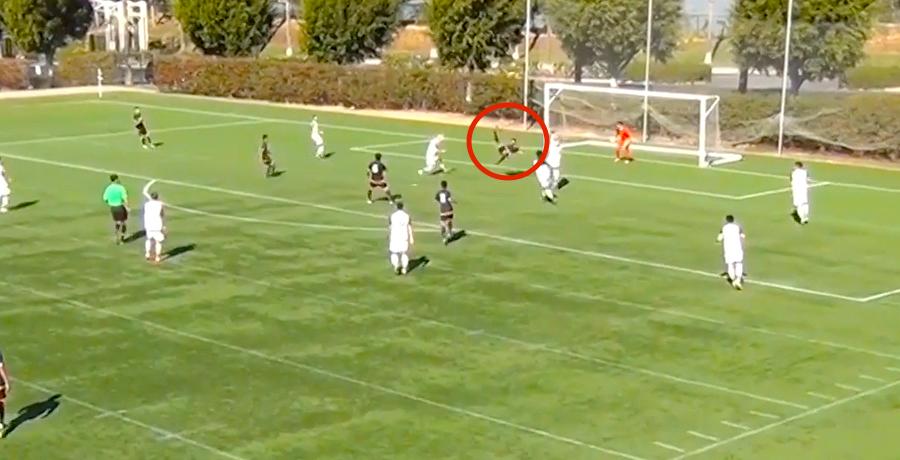 WATCH: LA Galaxy U18 Scores Ridiculous Overhead Kick