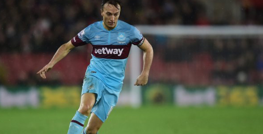 WATCH: Mark Noble Equalises For West Ham With A Thunderbolt