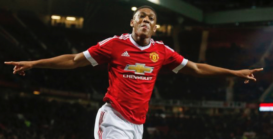 VIDEO: Anthony Martial Scores Magnificent First-Half Goal