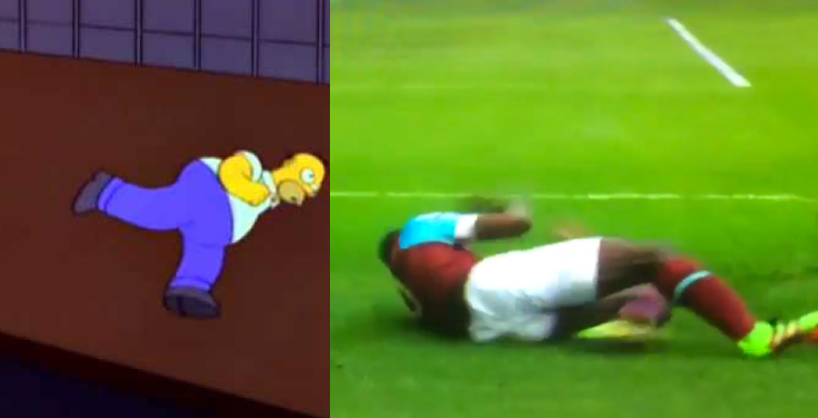 VIDEO: Michail Antonio Scores Lovely Goal And Celebrates Like Homer Simpson