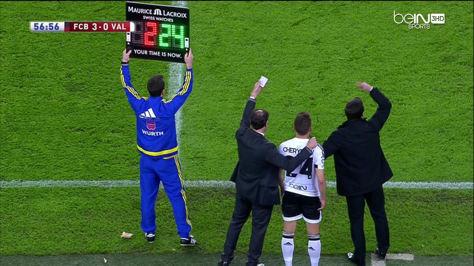 Barcelona Fans Give Madrid Loanee Denis Cheryshev Huge Cheer At Camp Nou