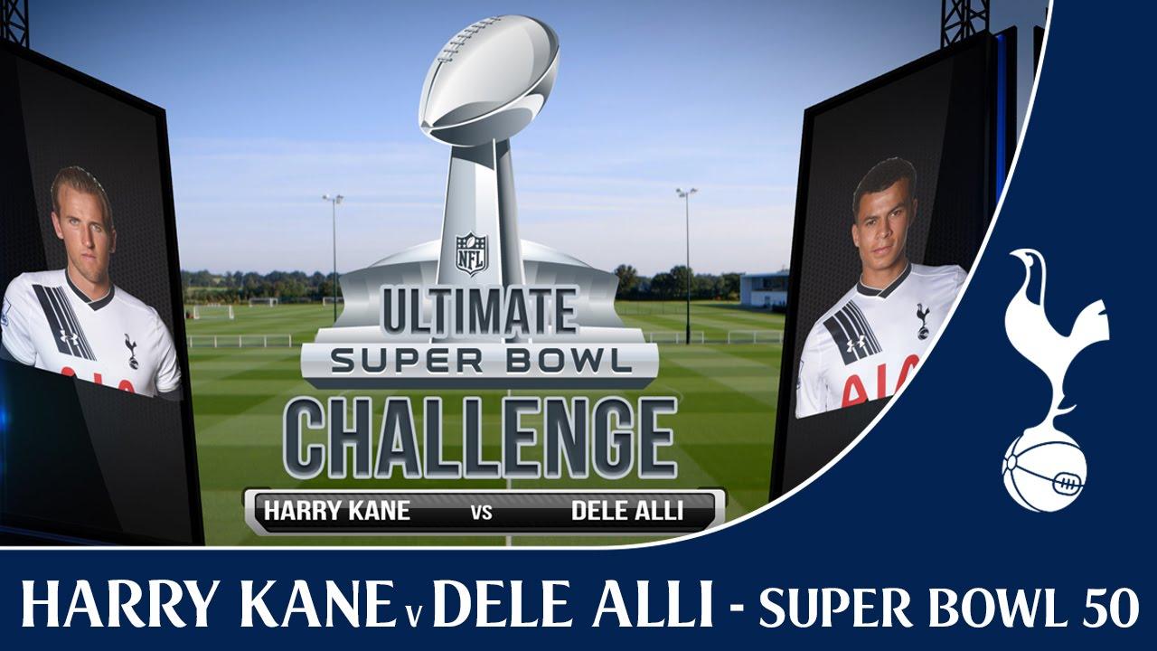 Harry Kane v Dele Alli – Ultimate Super Bowl Challenge