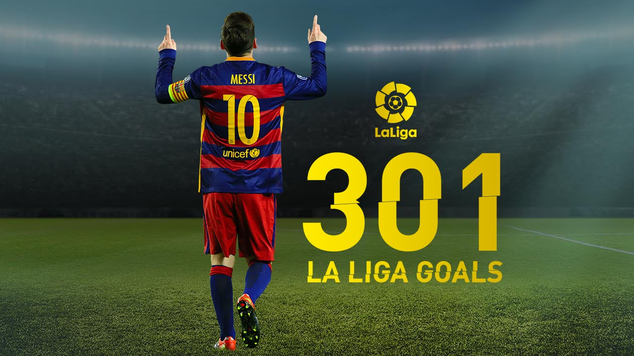 VIDEO: Watch All 301 Of Lionel Messi's La Liga Goals In One Stunning Video