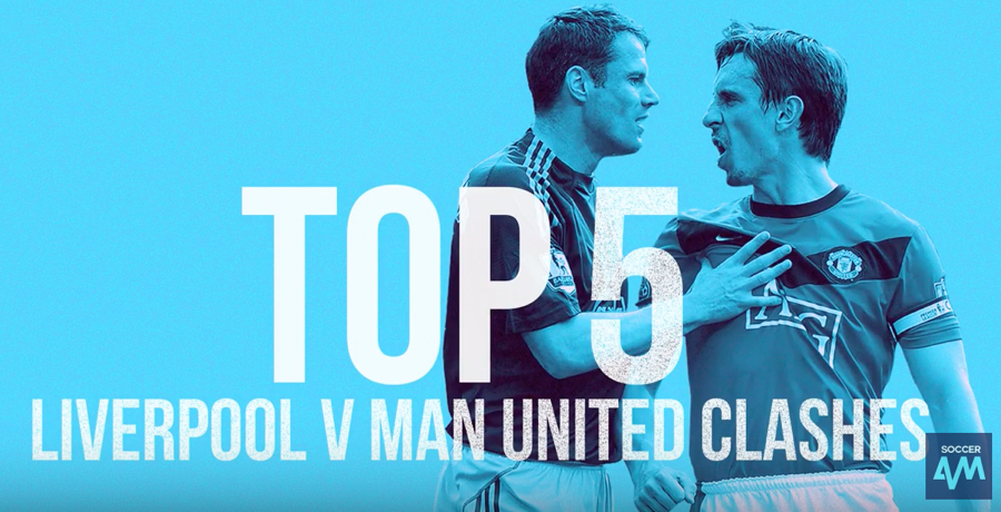 WATCH: Top 5 | Liverpool v Manchester United Clashes
