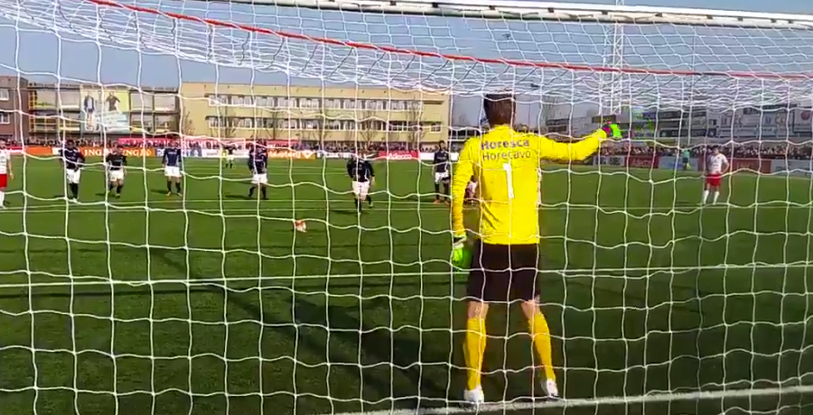 VIDEO: Edwin Van Der Sar Saves Penalty In First Game Back In Football