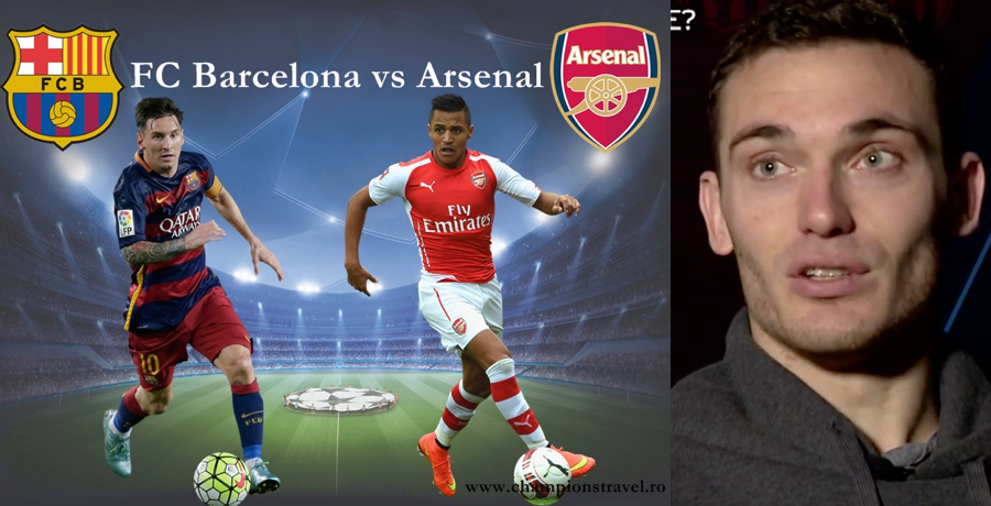 WATCH: Thomas Vermaelen Is Giving Arsenal A Chance Against Barcelona