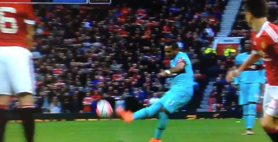 WATCH: Dimitri Payet Scores Absolutely Stunning Free-Kick Against Manchester United