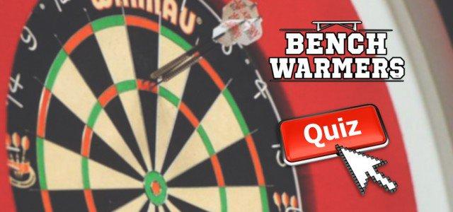 QUIZ: BenchWarmers Ultimate Premier League Darts Appearance Quiz