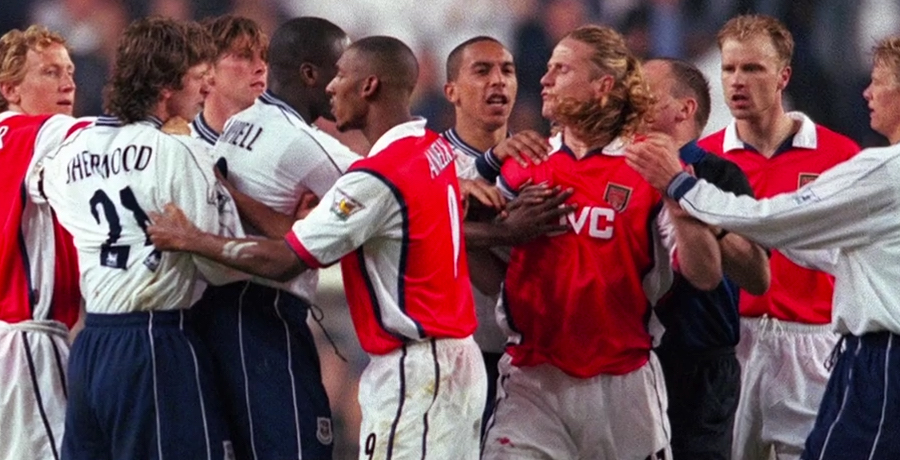 VIDEO: Top 10 Most Shocking Moments Between Arsenal And Tottenham