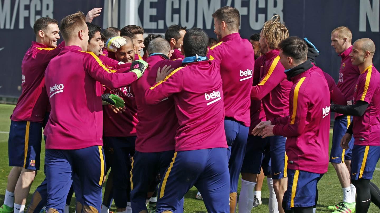 WATCH: Barcelona Pull Off Fantastic Training Ground Rondo