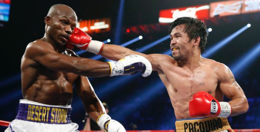 WATCH: Manny Pacquiao Floors Timothy Bradley Twice In His FINAL Fight