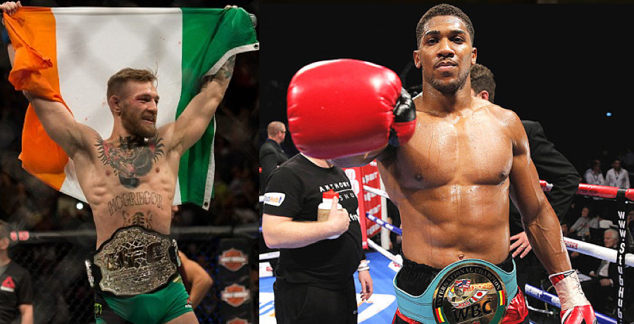 VIDEO: Anthony Joshua Says He Is A Massive Fan Of Conor McGregor