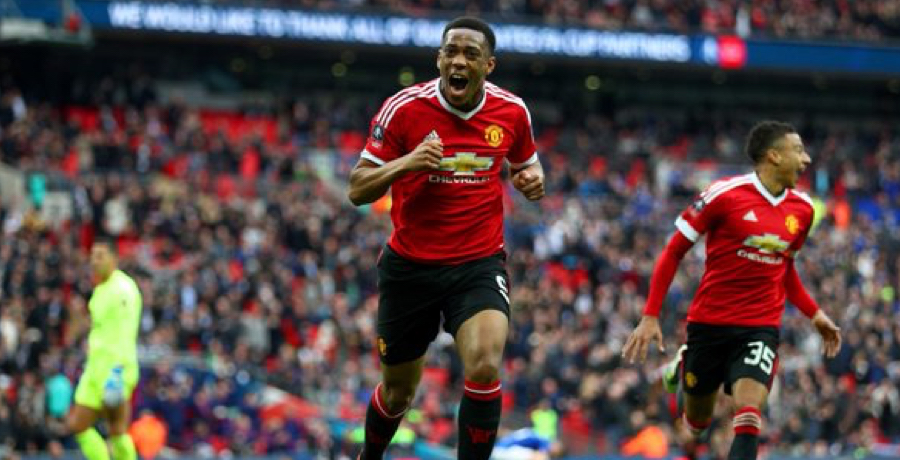 Anthony Martial's Injury Time Winner Claims FA Cup Final Spot For United