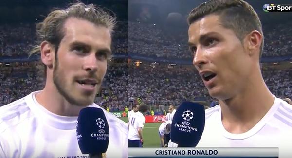 WATCH: Cristiano Ronaldo & Gareth Bale's Post Match Interviews