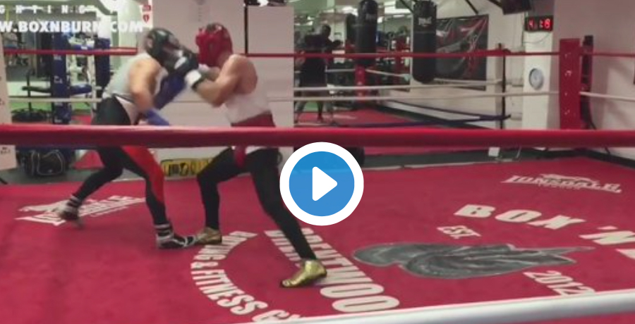 Footage Of Conor McGregor Practicing Boxing Appears Online