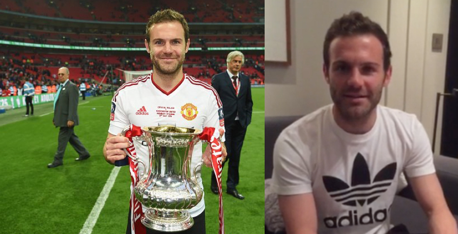Juan Mata Posts Classy Message To United Fans After FA Cup Victory