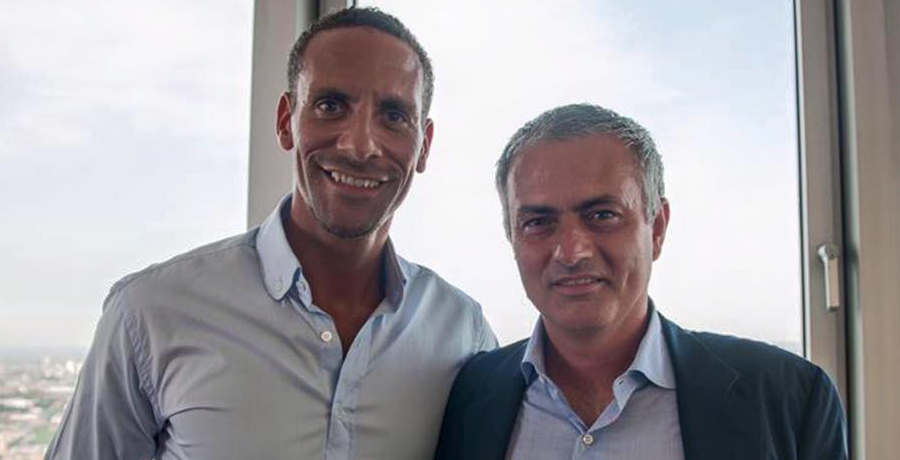 Rio Ferdinand Is Bloody Delighted Jose Mourinho Is Manchester United's New Manager